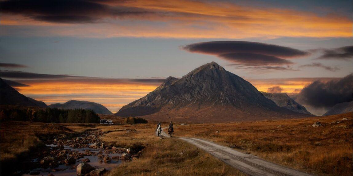 1st – Sunset in Glencoe by David Slade